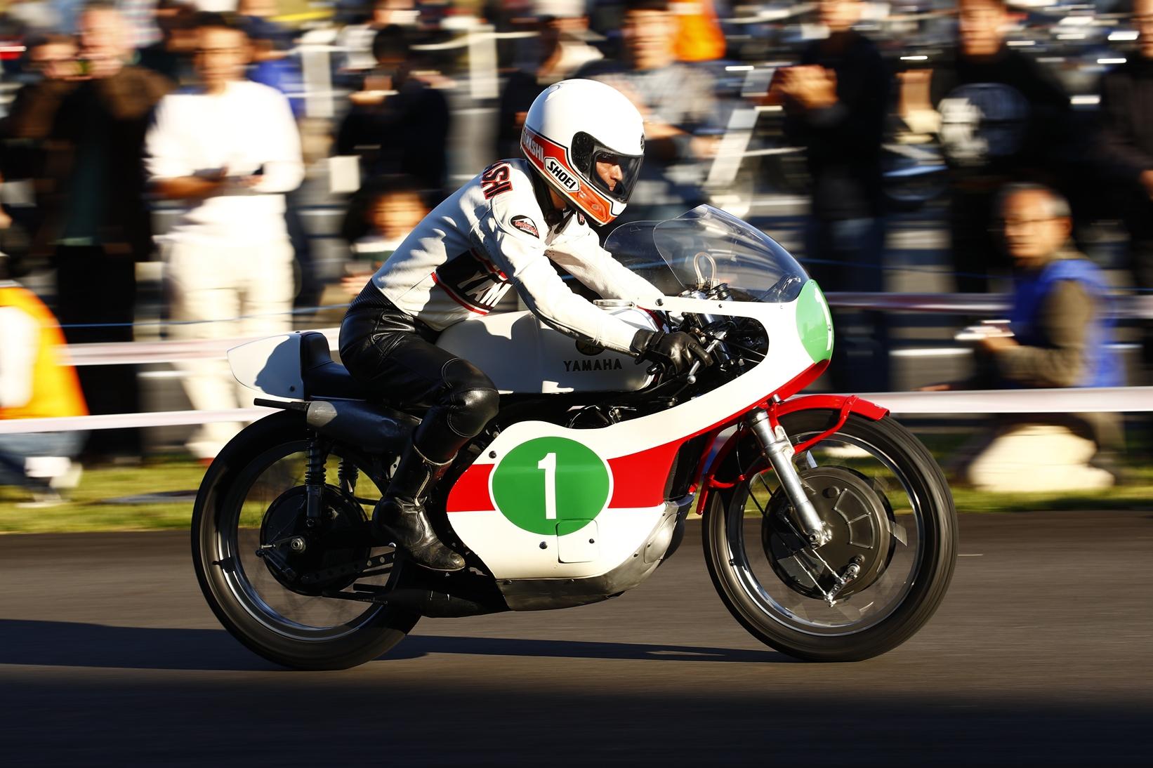 先着順! 歴史車輛デモ走行見学会2018 #ヤマハバイク の歴史を目撃せよ!
